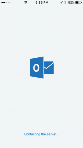 OWA App Contacting Server